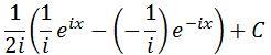 Moivre Antiderivative of sin pt. 10