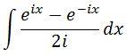 Moivre Antiderivative of sin pt. 8
