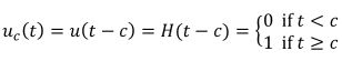 Heaviside Step Function Equation