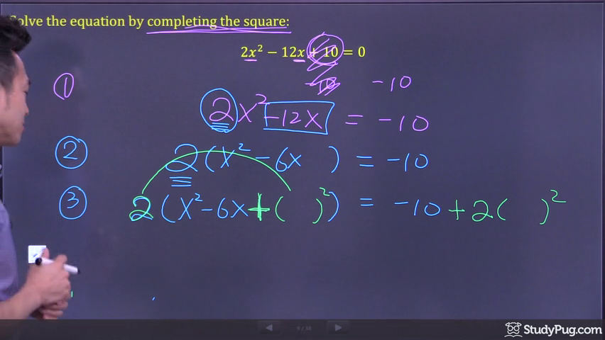 completing the square step 4