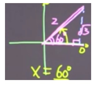 Determine the angle in the first quadrant