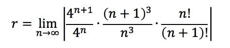 Equation 1: Convergence Ratio test pt. 6