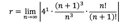 Equation 1: Convergence Ratio test pt. 7