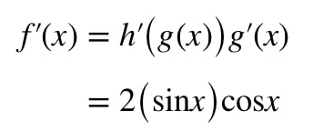 Equation 1: Derivative of sin^2x pt.7