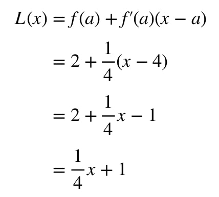 Equation 1: Linearization question pt. 6