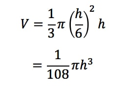Equation 1: related rates cone problem pt.9