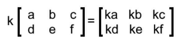 Equation 1: Scalar multiplication