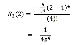 Equation 10: Taylor Series Error term ln(2) pt.6