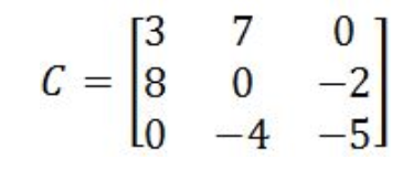 Equation 11: Matrix C