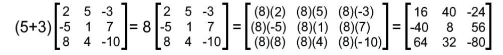 Equation 11: Verifying the distributive property (part 3)