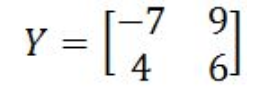 Equation 14: Matrix Y