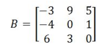 Equation 15: Matrix B