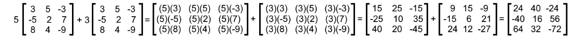 Equation 15: Verifying the distributive property (part 7)