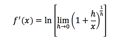 Equation 17: Proof of Derivative of lnx pt.8