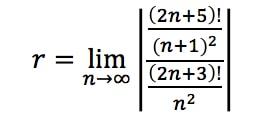 Equation 2: Divergence Ratio test pt. 4