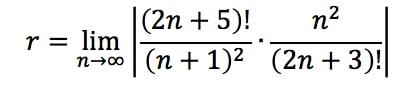 Equation 2: Divergence Ratio test pt. 5