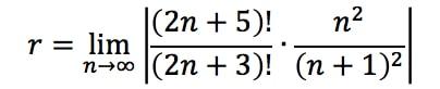 Equation 2: Divergence Ratio test pt. 6