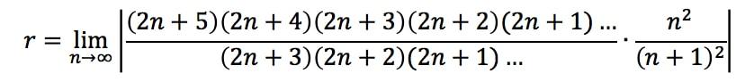 Equation 2: Divergence Ratio test pt. 7