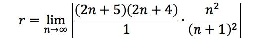 Equation 2: Divergence Ratio test pt. 8