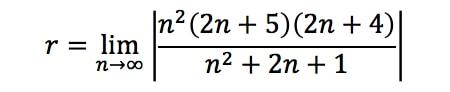 Equation 2: Divergence Ratio test pt. 9