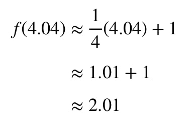 Equation 2: Linear approximation question pt.3