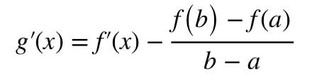 Equation 2: Mean Value Theorem proof pt.5