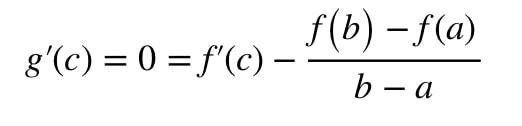 Equation 2: Mean Value Theorem proof pt.8