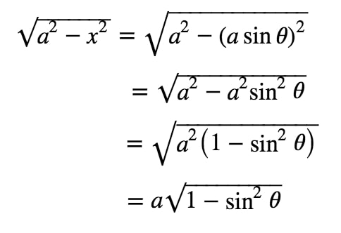 Equation 2: Substituting with asin pt.1