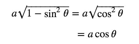 Equation 2: Substituting with asin pt.3