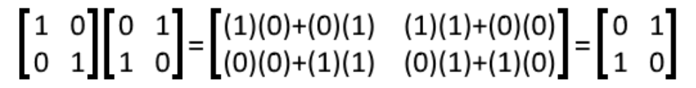 Equation 20: Multiplying matrices C and D