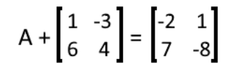 Equation 20: Solve for A in the matrix equation (part 1)