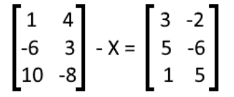Equation 22: Solve for X in the matrix equation (part 1)