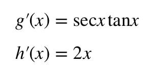 Equation 3: Derivative of sec^2x pt.4