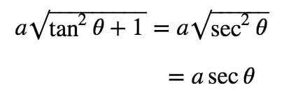Equation 3: Substituting with atan pt.3