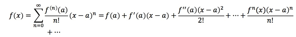 Equation 3: Taylor Series of e^x pt.1