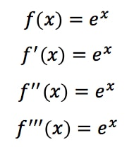 Equation 3: Taylor Series of e^x pt.2