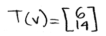 Equation 4: Image of v