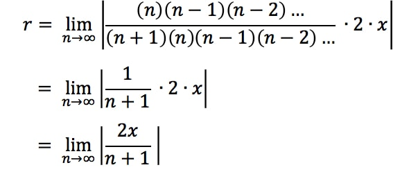 Equation 4: Ratio test Interval of Convergence pt. 7