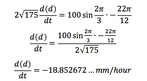 Equation 4: related rates clock problem pt.14