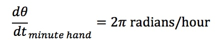 Equation 4: related rates clock problem pt.4