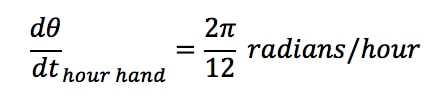 Equation 4: related rates clock problem pt.5