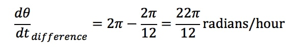 Equation 4: related rates clock problem pt.6