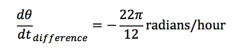 Equation 4: related rates clock problem pt.7
