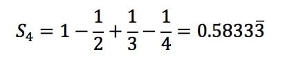 Equation 5: Harmonic Alternating Series Estimation pt.3