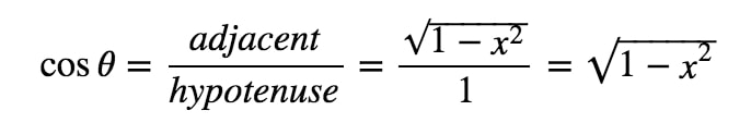 Equation 5: Trig Substitution with sin pt.11