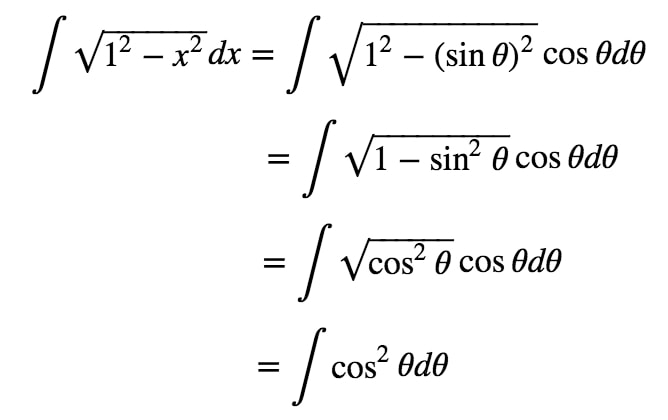 Equation 5: Trig Substitution with sin pt.4