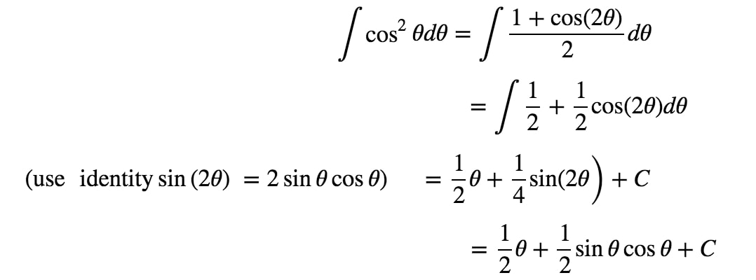 Equation 5: Trig Substitution with sin pt.6