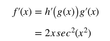 Equation 6: Derivative of tanx^2 pt.4