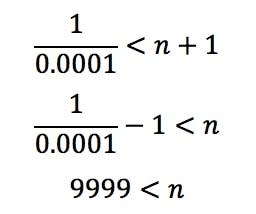 Equation 6: Harmonic Alternating Series Error pt.12