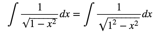 Equation 6: Trig Substitution of inverse sin pt.3